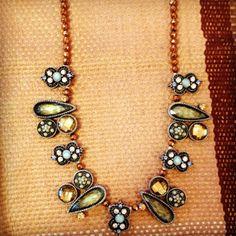 #jillbeads necklace www.glassgrowersgallery.com