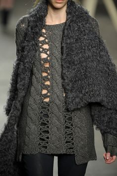 32 details photos of Tess Giberson at New York Fashion Week Fall 2012.