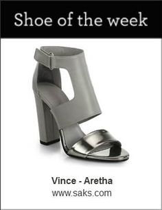 Shoe of the Week: the Vince Aretha.