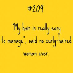 Curly Hair Problem #209