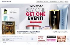 As an Avon Representative, are you using Facebook to sell Avon online? With 1.11 billion monthly active users on Facebook, you should definitely have a presence for your Avon business if you are serious about selling Avon online. Read more here on how to sell Avon online using Facebook. http://www.makeupmarketingonline.com/sell-avon-online-using-facebook/