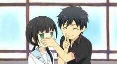Hishiro y Arata en busca de Rena