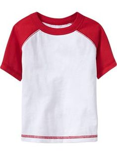 Color-Block Raglan Tees  | Old Navy $5.55 Sale