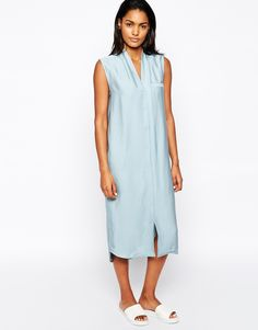 Won Hundred Pauline Midi Shirt Dress