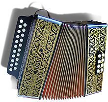 Accordéon diatonique — hohner 2915