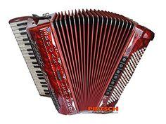 Bugari Piano Akkordeon #red #rot #rosso