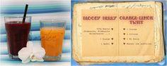 Bloody Berry // Orange - Lemon - Twist