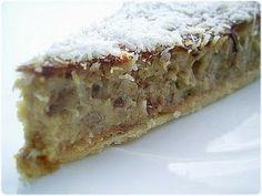 Tasca da Elvira: tarte banane - coco - Recette portugaise