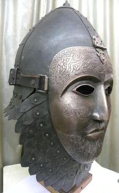 INCREDIBLE  OTTOMAN TURKISH ISLAMIC BATTLE WARRIOR HELMET MASK KORAN CALLIGRAPHY