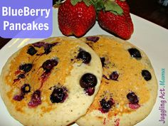 Juggling Act: Classic Blueberry Pancakes