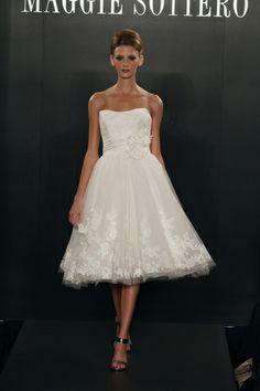 Tea-Length Wedding Dressses