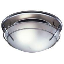 Harbor Breeze 2 Sone 100 Cfm Nickel Bathroom Fan With