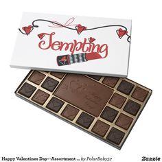 Happy Valentines Day~-Assortment Belgian chocolate 45 Piece Box Of Chocolates