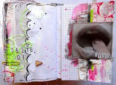 made by Guru ► SODAlicious art journal challenge No36