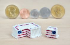 fake 4th of July cake by FatalPotato.deviantart.com on @deviantART