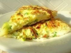 Omelette with zucchini - New best recipes for cooking Seafood Recipes, Diet Recipes, Cooking Recipes, Healthy Recipes, Yummy Snacks, Yummy Food, Smoothie Fruit, Recipes From Heaven, Clean Recipes