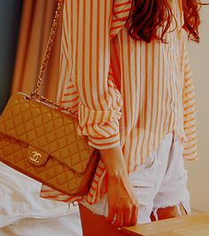 i really want a quilted chanel bag.