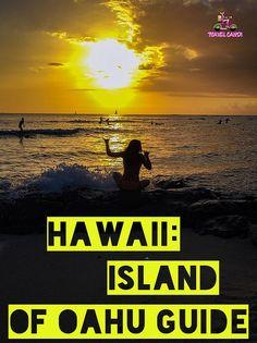 Island of Oahu destination guide. #travel #hawaii #honolulu