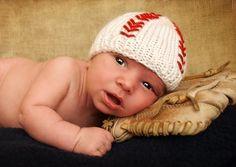 On Sale Lil BaseBall Baby Hat Beanie            by ForStitchesSake, $15.00