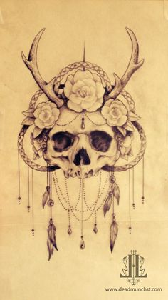 Art   DeadMunchStreet Tattoo