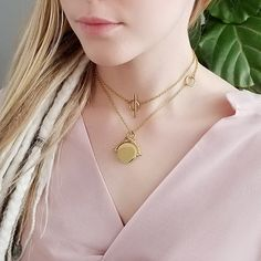 Everyday Necklace, Gold Chains, Etsy Seller, Layers, Chokers, Gold Necklace, Unique, Silver, Jewelry