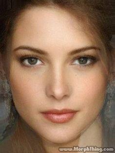 Ashley Greene, Hillary Duff, Elizabeth Taylor, Megan Fox, Laetitia Casta (Morphed) - MorphThing.com