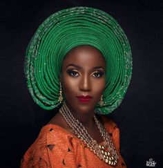 Top Gele Glam Inspiration For Your Events 2018 Looking acceptable has consistently been our watchword! Even back we are accessible to sleep, we accompli African Fashion Dresses, African Attire, African Wear, African Women, African Dress, African Outfits, African Style, Nigerian Wedding Dress, Nigerian Bride