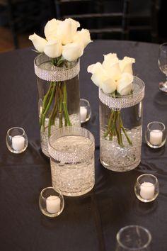 Flower Mill wedding centerpiece - Love this!