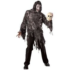 Mens Lord Gruesome Scary Halloween Adult Costume « Holiday Adds