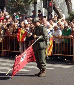 Simbols nazis i franquistes durant la Diada de València. 9 Octubre 2014