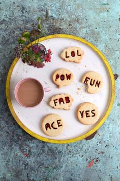 Biscuits & petits messages