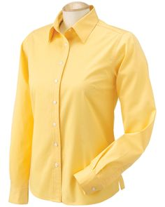 Ladies twill shirt - Buy chestnut hill ladies 32 singles L/S twill at Gotapparel.com