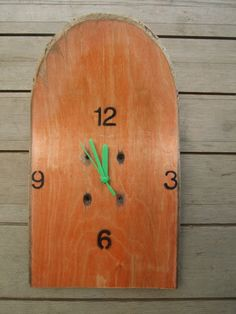 Unique Broken Skateboard Clock. £15.00, via Etsy.