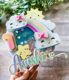 3d Paper Crafts, Diy And Crafts, Cake Lettering, Cricut Cake, Bead Loom Bracelets, Disney Crafts, Loom Beading, Letters And Numbers, Scrapbook Cards