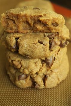 Peanut Butter Cookies with Chocolate and Peanut Butter Chips by Emily Morris