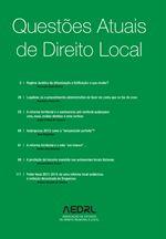 Questões atuais de direito local / coordenação de António Cândido de Oliveira, Fernanda Paula Oliveira.      AEDRL, 2013