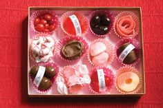 DIY personalized candy box for a Valentine's Day gift.