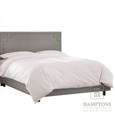 Łóżko tapicerowane Daisy styl nowojorski, hamptons, amerykański, modern classic