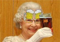 Beer Goggles gets knighted.