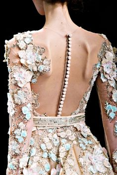 "models-fashion111: ""Ziad Nakad Spring 2017 Couture - Details. """