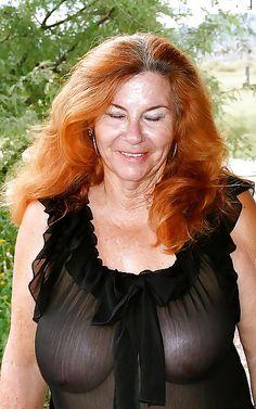 Sweet redheaded mom.