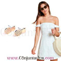 Pendientes dorados Pineapple ★ 4'95 € ★ Cómpralos en https://www.conjuntados.com/es/pendientes/pendientes-minimalistas/pendientes-dorados-pineapple.html ★ #pendientes #earrings #conjuntados #conjuntada #joyitas #lowcost #jewelry #bisutería #bijoux #accesorios #complementos #moda #outfit #estilo #style #streetstyle #spain #GustosParaTodas #ParaTodosLosGustos