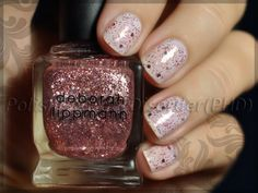 """lternating coats of OPI """"Funny Bunny"""" and """"Some Enchanted Evening"""", beginning with """"Funny Bunny"""" - 2 coats each"""