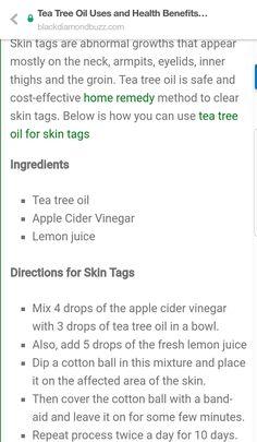Tea Tree Oil Uses, Skin Tag, Inner Thigh, Cider Vinegar, Clear Skin, Apple Cider, Home Remedies, Health Benefits, Apple Vinegar