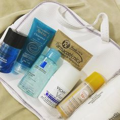 Itens indispensáveis da minha nécessaire de viagem!  #cosméticos #beleza #dermatologia #maquiagem #makeup #estetica #cuidados