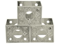 Sterling Silver Napkin Rings Set of Three - Antique Victorian SKU: A1691 Price GBP £395.00 http://www.acsilver.co.uk/shop/pc/Sterling-Silver-Napkin-Rings-Set-of-Three-Antique-Victorian-58p7017.htm#.VcsLDvlmqzQ
