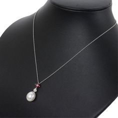 Material: Platinum marked as Approx. Length: - Pendant Size (Approx): x clasp) Pearl Size(Approx): Size of Diamond: Total weight of piece: Ruby Pendant, Pearl Pendant Necklace, Pearl Jewelry, Beaded Necklace, Diamond Pendant, Jewelry Necklaces, Platinum Jewelry, Diamond Jewellery, Egyptian Jewelry