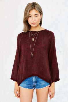 Ecote Jetty Cozy Thermal Top - Urban Outfitters