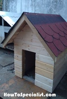 How to build an insulated dog house | HowToSpecialist - How to Build, Step by Step DIY Plans