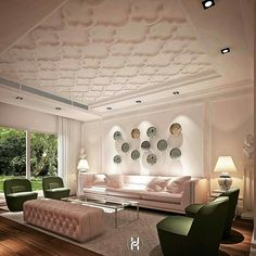 reference - false ceiling , moulding design on wall and the curtain palmet Room Design, Molding Ceiling, Luxury Living Room Design, Bedroom False Ceiling Design, Ceiling Light Design, Ceiling Design Living Room, Master Bedrooms Decor, Luxury House Interior Design, Lighting Design Interior